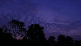 Bellezza del cielo sopra noi fotografia stock