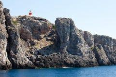 Bellezza dell'arcipelago toscano - isola di Giannutri Immagine Stock