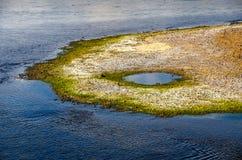 Bellezza della natura nel fiume Fotografia Stock Libera da Diritti