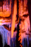 Bellezza della stalattite Fotografie Stock