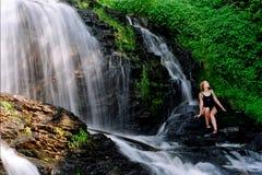 Bellezza delle cascate Fotografie Stock Libere da Diritti