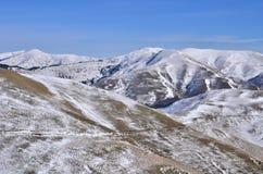 Bellezza delle montagne Fotografia Stock