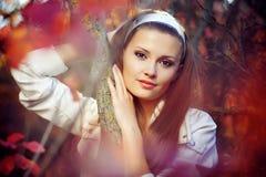 bellezza di autunno Fotografie Stock Libere da Diritti