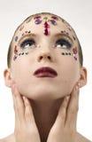 Bellezza di Bejewled Fotografia Stock