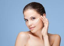 Bellezza di cura di pelle. Immagine Stock
