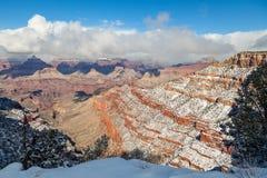 Bellezza di inverno di Grand Canyon Fotografie Stock Libere da Diritti