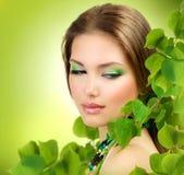 Bellezza di primavera Immagine Stock