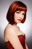 Bellezza di Redhead immagine stock