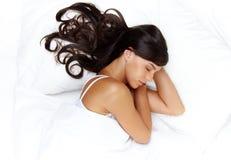 Bellezza di sonno Immagine Stock Libera da Diritti