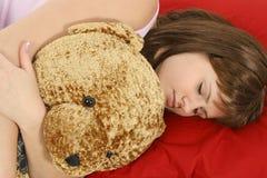 Bellezza di sonno Immagine Stock