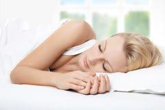 Bellezza di sonno Immagini Stock Libere da Diritti