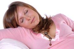 Bellezza di sonno Fotografia Stock Libera da Diritti