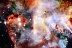Bellezza di spazio cosmico Carta da parati della fantascienza illustrazione vettoriale