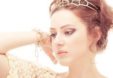 Bellezza divina Fotografia Stock
