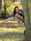 Bellezza durante l'autunno Fotografia Stock
