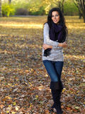Bellezza durante l'autunno Immagini Stock Libere da Diritti