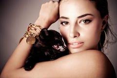 Bellezza e bestia Fotografia Stock