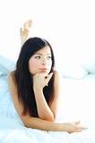 Bellezza e fresco fotografie stock