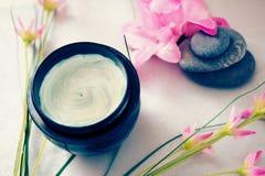 Bellezza e trattamenti di distensione di wellness della stazione termale Fotografia Stock Libera da Diritti
