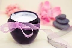 Bellezza e trattamenti di distensione di wellness della stazione termale Immagine Stock
