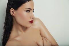 Bellezza e trucco fotografia stock