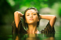 Bellezza fresca Immagini Stock Libere da Diritti