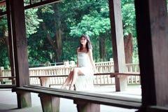 Bellezza in giardino classico cinese Immagini Stock