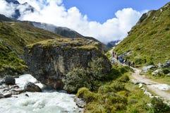 Bellezza himalayana Fotografia Stock Libera da Diritti