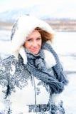 Bellezza in inverno fotografia stock