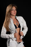 Bellezza latina Fotografia Stock