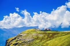Bellezza naturale alla montagna Fotografia Stock
