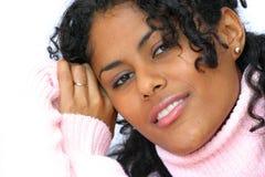 Bellezza nel colore rosa Immagini Stock Libere da Diritti