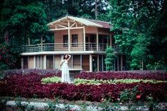 Bellezza nel giardino Immagini Stock Libere da Diritti