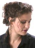 Bellezza nel profilo Fotografia Stock