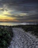 Bellezza oltre le dune fotografie stock libere da diritti
