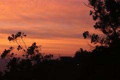 Bellezza paesaggistica nella sera Fotografia Stock