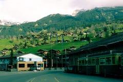 Bellezza paesaggistica svizzera Fotografia Stock