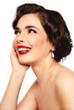 Bellezza Pin-in su Fotografia Stock Libera da Diritti
