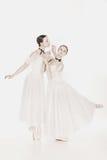 Bellezza romantica Retro ballerine di stile Fotografia Stock