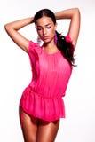 Bellezza rosa Fotografia Stock Libera da Diritti