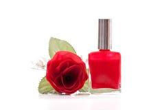 Bellezza rossa Fotografie Stock Libere da Diritti