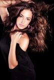 Bellezza selvaggia dei capelli Immagini Stock