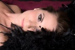 Bellezza sensuale fotografia stock
