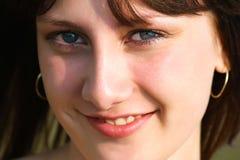 Bellezza sorridente Fotografia Stock Libera da Diritti