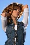 Bellezza spagnola Immagini Stock