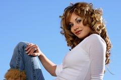 Bellezza spagnola Immagine Stock