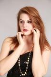 Bellezza sparata della giovane donna Fotografie Stock