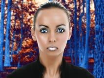 Bellezza straniera Fotografie Stock Libere da Diritti