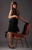 Bellezza in studio Fotografia Stock
