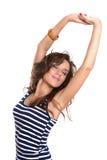 Bellezza stunning sexy del brunette Fotografie Stock Libere da Diritti
